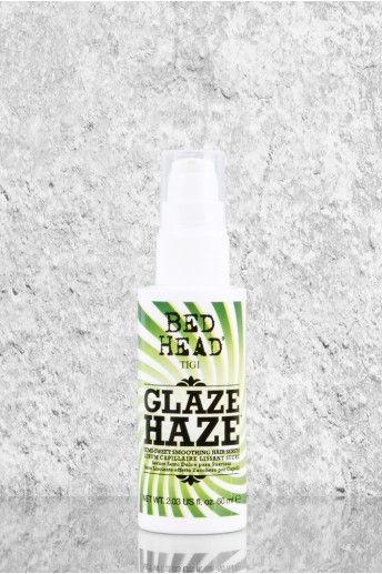 Glaze Haze - Édes ápoló cukorkával vonja be a hajszálakat, így a frizura ellenálló lesz a párával szemben. A haj puha és fényes lesz és lerövidül a szárításra fordított idő is.
