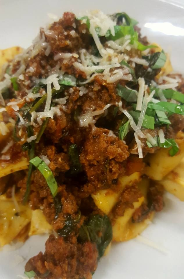 Wild goat ragu anyone? Perfect in this weather with fresh pappardelle. Fratelli restaurant, wellington. http://www.fratelli.net.nz