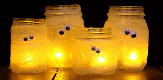 Easy Peasy Upcycled Halloween Crafts  - Whether you're always crafting or you just wish you were, these Halloween crafts are fun and simple.