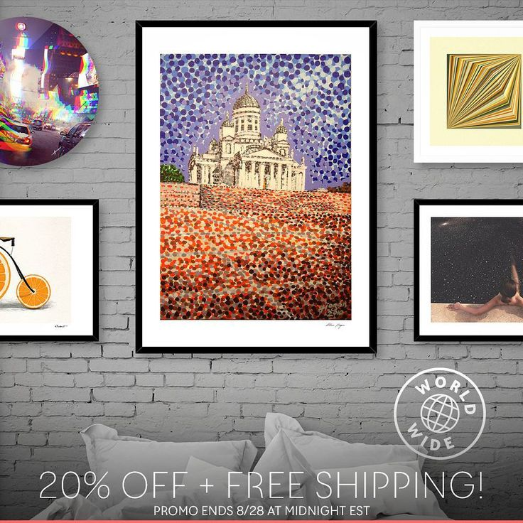 ..just joined up with the print-on-demand webstore CURIOOS. So kickin' off with a little promo.  Get 20% off + free shipping on all apparel and prints  Use code SHOP20: https://www.curioos.com/alanhogan/promo   ____________________________    #curioos #helsinki #helsinkicathedral  #helsingintuomiokirkko #art #finland #hoganfinland #dots #konst #taide #artcollection #artcollectors #gallery #artcollective #artistlife #artlife #worldofartists #supportart