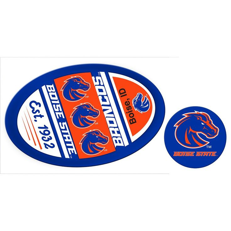 Boise State Broncos Game Day Decal Set, Multicolor