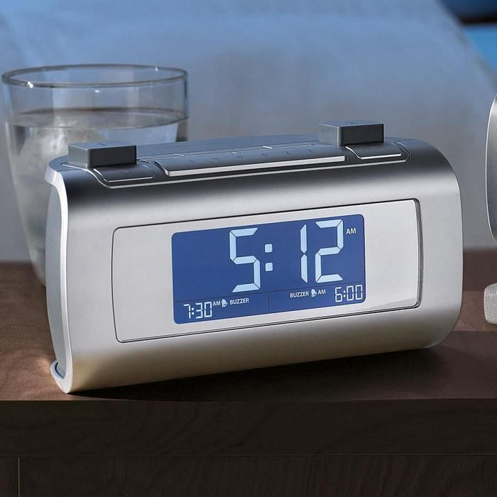 timesmart app controlled bluetooth alarm clock radio. Black Bedroom Furniture Sets. Home Design Ideas