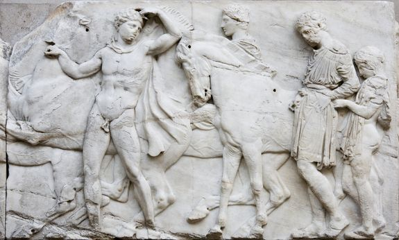 Live Science: Elgin Marbles and the Parthenon