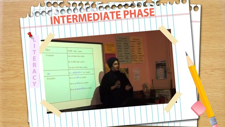 Language Structure - Similes - Using the Smart Board