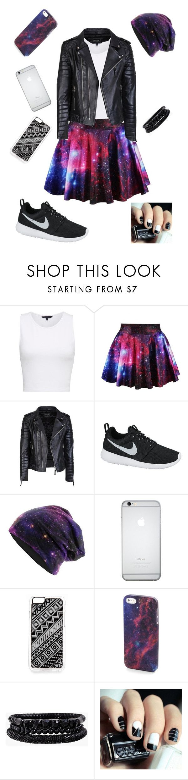 """""""My skater girl look..."""" by soniashus1 ❤ liked on Polyvore featuring French Connection, NIKE, Zero Gravity and Spring Street"""