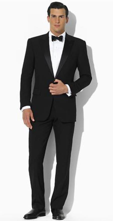 SKU#PN86 Ralph Lauren Lawrence Two Button Slim Fit Tuxedo $275