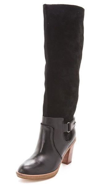 Love the versatility of these. Could wear anywhere.  KORS Michael Kors Lela Two Tone Boots: Kors Michael, Tone Boots, Style, Buy Kors, Michael Kors, Two Tones, Kors Lela, High Boots