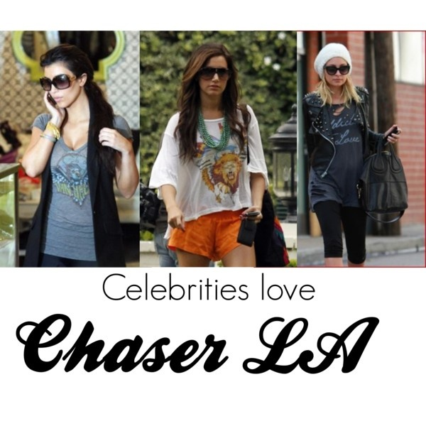 Celebrities Love Chaser LA - have 5 shirts and a hoodie from them... Expensive but worth it!!! :-)