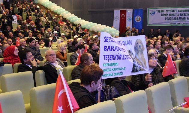 Orman ve Su İşleri Bakanı Prof. Dr. Veysel Eroğlu, Yalova'ya 193 milyon lira tutarındaki 18 adet yatırım ile geldi.