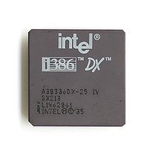 Intel 80386 - It ran SO much faster than my pitiful 286, or the 8088.