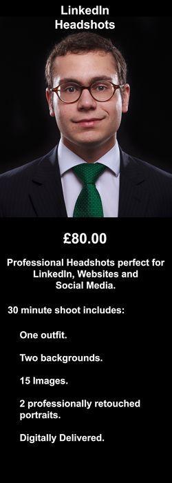 LinkedIn Headshots: