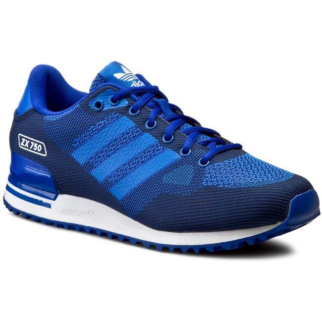 Buty adidas - Zx 750 Wv S79197 Boblue/Blue/Ftwwht