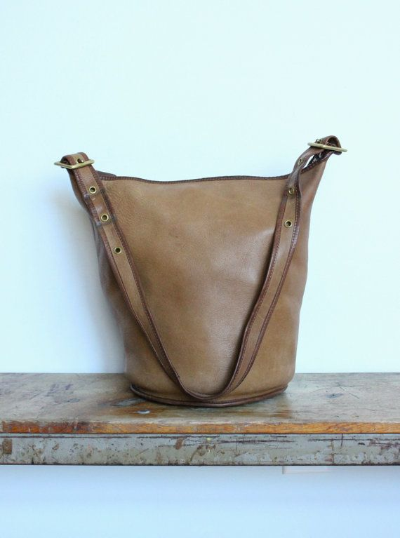 Vintage Coach Duffle Bag New York City Tabac by magnoliavintageco