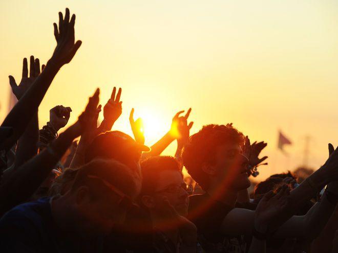 Summer = music festivals