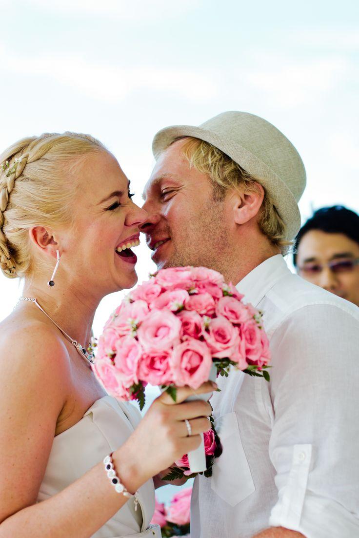 Aleksnder and Evgeniia wedding moment