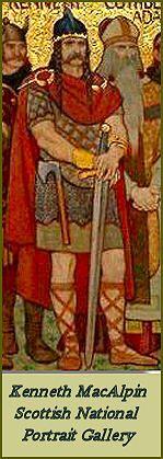 Cináed mac Ailpín (después del 800–13 de febrero de 858) (anglicanizado como Kenneth MacAlpin) fue rey de los Pictos y, siguiendo los mitos nacionales, el primer rey de Escocia.[1] El legado indiscutible de Cináed fue el producir una dinastía de dirigentes que se proclamaban descendientes suyos. Si bien no puede serle dado el título de padre de Escocia, sí fue el fundador de la dinastía que gobernó el país durante casi todo el periodo medieval.