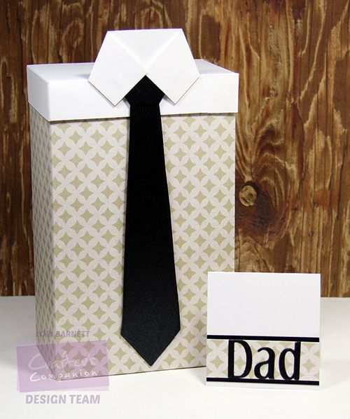 Crafter's Companion USA Information Blog : Tutorial: Shirt Box & Card