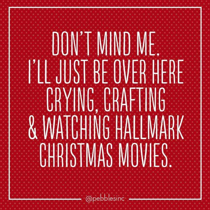 I love Hallmark Christmas movies!