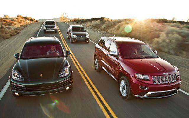 Luxury Diesel SUV Comparison