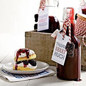 Blackberry Syrup Recipe | MyRecipes.com