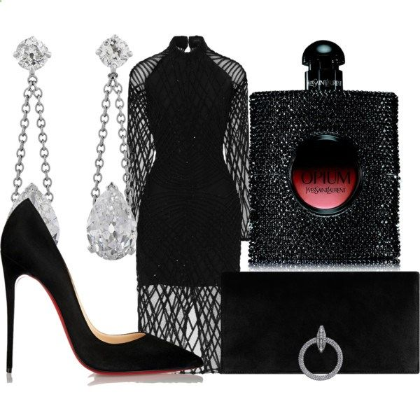 A fashion look from December 2016 featuring Lavish Alice dresses and Christian Louboutin pumps. Browse and shop related looks.