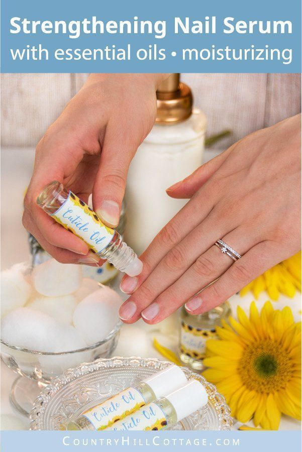 Diy Cuticle Oil With Essential Oils To Strengthen Nails Dry