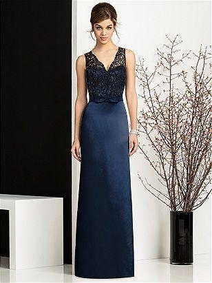 Adrianna black lace #navy #lace  https://www.bellebridesmaid.com.au/product/adrianna-black-lace/