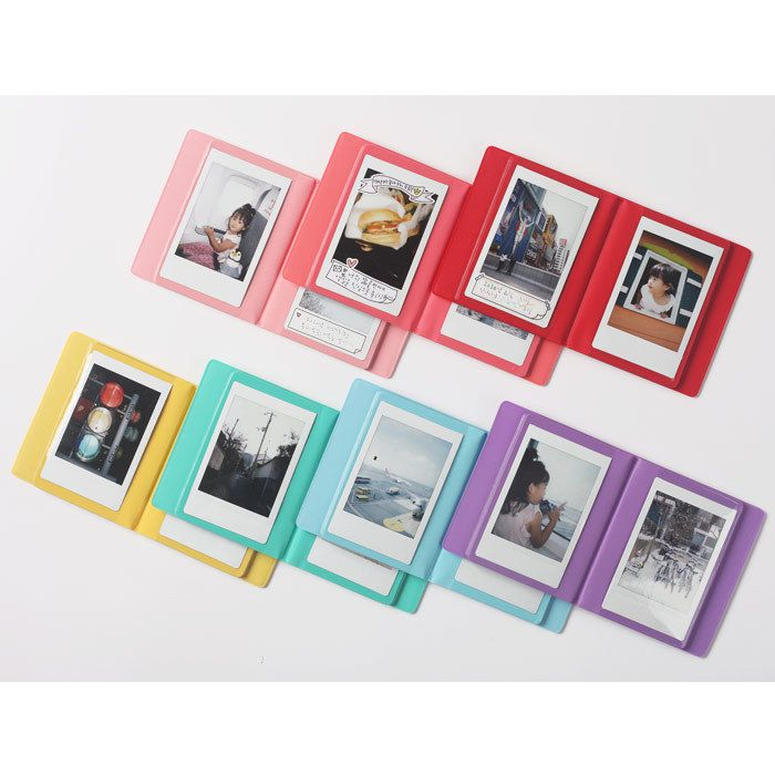 2NUL Instax mini polaroid small photo album (http://www.fallindesign.com/2nul-instax-mini-polaroid-small-photo-album/)