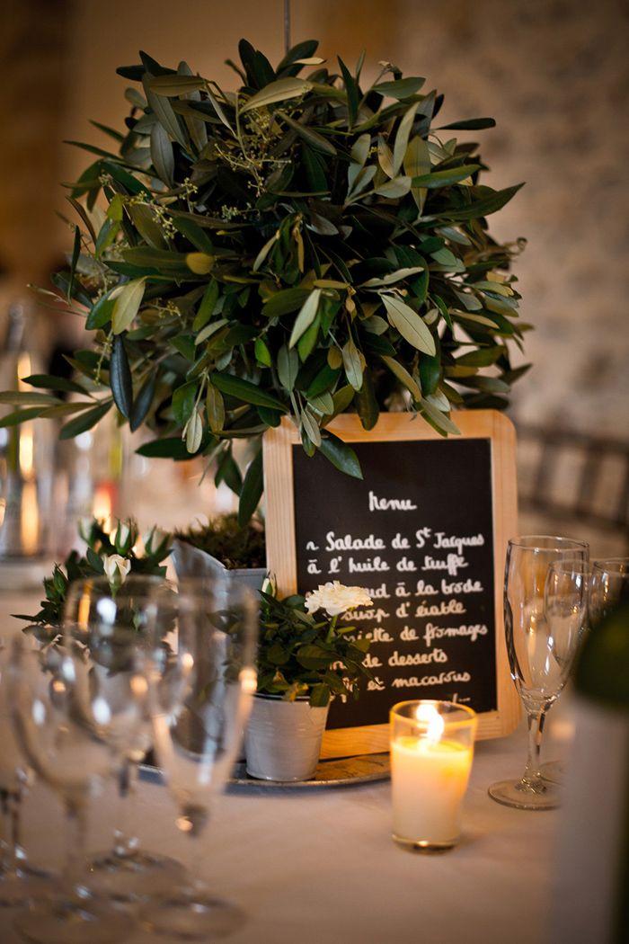 Decoration de table   Des idées pour un joli mariage | blog mariage | pour les mariées ni tarte ni quiche