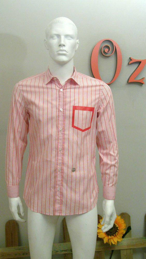 Camisa de hombre a cuadros de Moschino -Nuevo y Original-