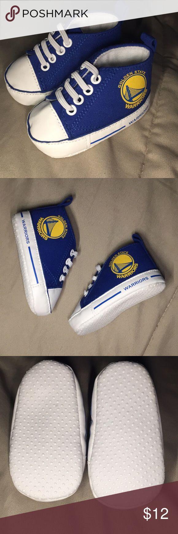 Golden State Warriors Crib Shoe Golden State Warriors Crib Shoe || Size 0-6 Months || NEW Shoes Baby & Walker