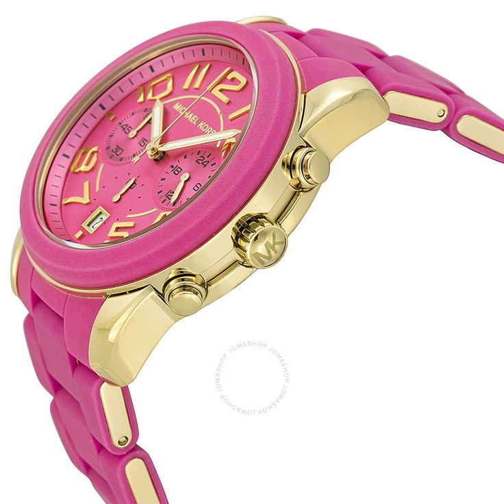 Checkout Michael Kors Rose Gold Plated Chronograph Ladies Watch – Price: Less than $250