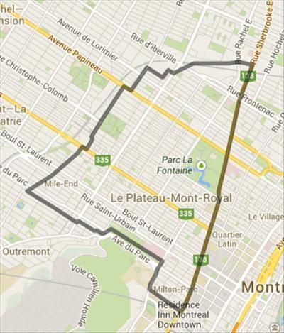 plateau mont-royal boundary - Google Search