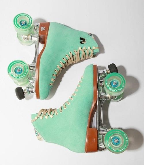 Mint roller skates!