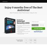 FREE 9 Month License for Bitdefender Internet Security 2015