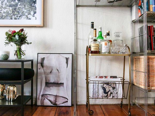 Poster von Victoria #Verbaan #Minibar   Interior - Goldfasan   Mini ...
