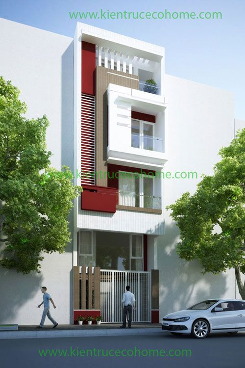 Thiết kế nhà phố tại Hải Phòng, thiết kế nhà phố đẹp