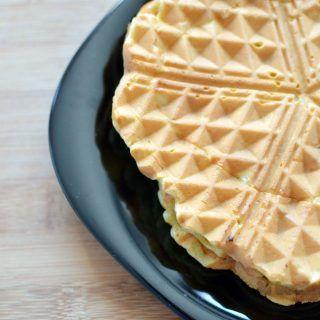 Waffles cu mere