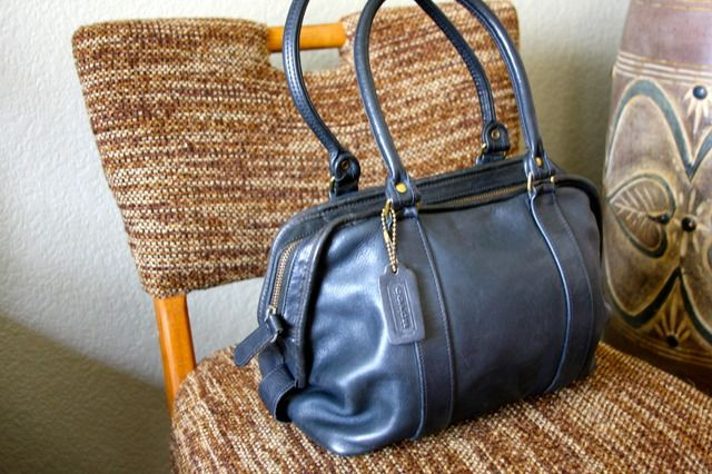 Vintage #Coach Speedy Bowler #Bag
