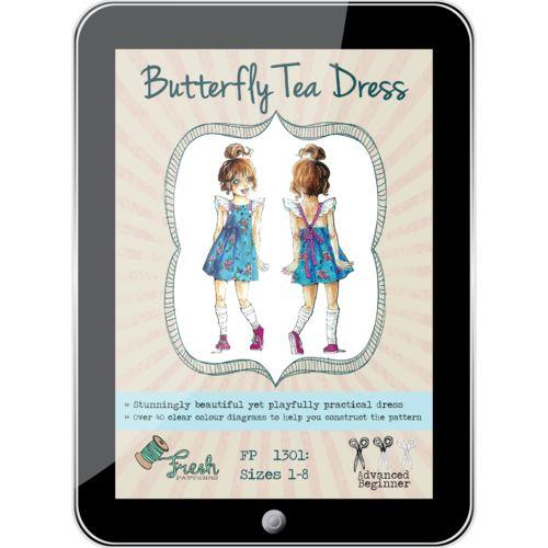 Butterfly Tea Dress PDF Pattern
