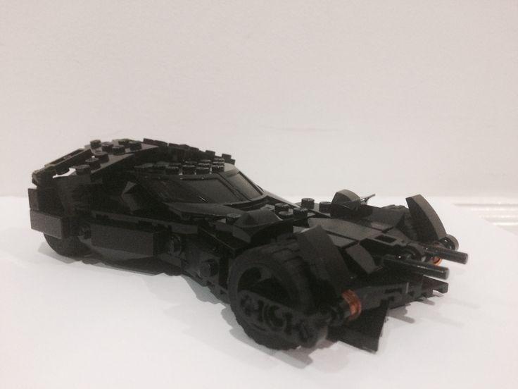 My Lego bvs batmobile
