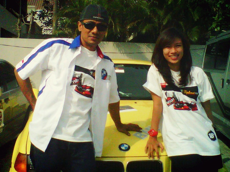 sunday auto fun rally BMW Tuner Club with lovely daddy