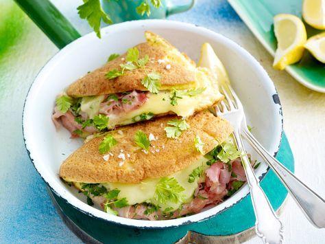 Landfrauenküche - beste Zutaten, mit Liebe zubereitet - omelett-cordon-bleu Rezept