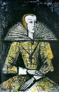 Femme élisabéthaine by Bernard Buffet