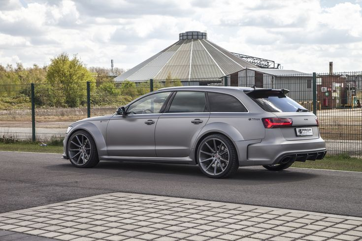 Prior Design D600R #Audi RS6 Avant #cars #automotive #sportscars #luxury #widebody #stance #wheels More from Prior Design >> http://www.motoringexposure.com/aftermarket-tuned/prior-design-aftermarket-tuned/