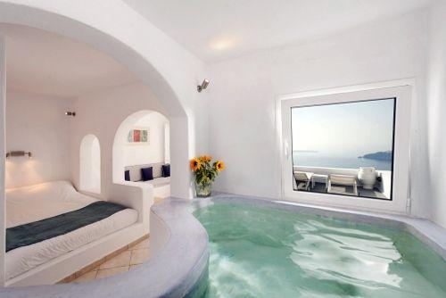 Les 137 meilleures images propos de h tel et chambre for Chambre avec jacuzzi privatif normandie