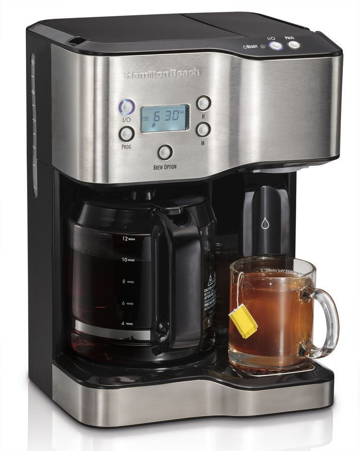 Features:  -Coffee the way you like it.  -12 cup coffee maker.  -Cone filter for better taste.  -Regular or bold brew strength.  -Hot water dispenser.  -Capacity: 32 oz.  Product Type: -Automatic mach