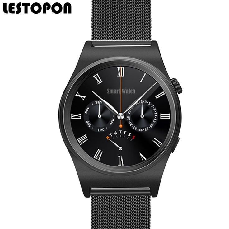 """LESTOPON Smartwatch  Wearable Devices Clock 1.30"""" inch OGS Screen 128M+64M Bluetooth Smart Watch work for iPhone Android //Price: $57.60//     #shopping"""