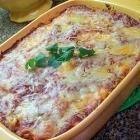 Foto recept: Pasta met 3 kazen uit de oven