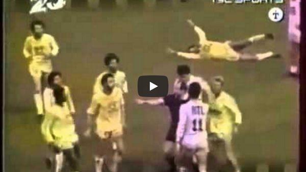 Brutalny faul Erica Cantony na początku kariery piłkarskiej • Nie wiem dlaczego sędzia podyktował faul... • Wejdź i zobacz film #cantona #football #soccer #sport #sports #pilkanozna #futbol